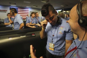 Bobak Ferdowsi - NASA's Jet Propulsion Lab Holds Viewing Of Mars Curiosity Rover Landing