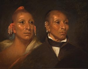 Black Hawk and His Son Whirling Thunder c 1833 John Wesley Jarvis