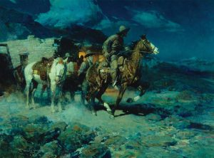 Pony Express c 1924  Frank Tenney Johnson