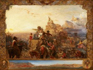 Westward the Course of Empire Takes Its Way c. 1861  Emanuel Gottleib Leutze  GERMAN