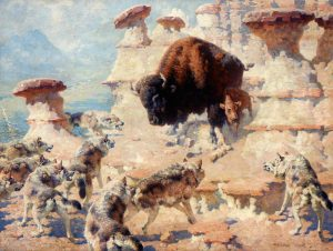 Buffalo Mother by William Robinson